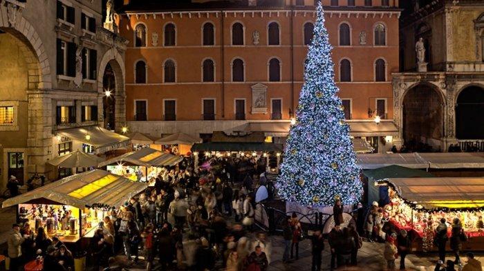 Mercatini di Natale nel centro storico di Verona